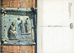 Ak Verona - Italien - Christus -  S. Zeno - Kirche , Church , Eglise - Bronzeportal - Tableaux, Vitraux Et Statues