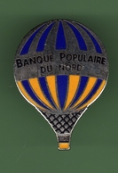 MONTGOLFIERE *** BANQUE POPULAIRE DU NORD N°2 *** A045 - Airships