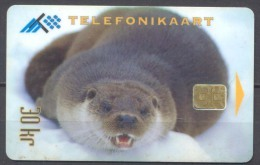 Télécarte Estonie 30kr 12/1995 Phoque Sur La Banquise - Estonie