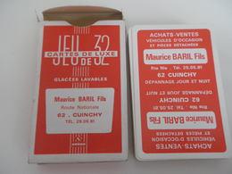 Jeu De 32 Cartes à Jouer - CUINCY - VEHICULES D'OCCASION  - GARAGE - 32 Karten