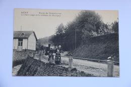 38528  -  Méry  Route De Dolembreux-  Patronage Et Chateau  -  Rare - Esneux