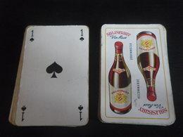 Jeu De 32 Cartes à Jouer - Vin SALISBURY - 32 Cards