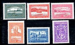 YUG42G - YUGOSLAVIA 1932 , CANOTTAGGIO Unificato N. 225/230  *  Linguellato - Nuovi