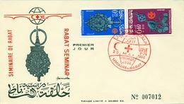 1966 , MARRUECOS , SOBRE DE PRIMER DIA , SEMINARIO DE RABAT - Maroc (1956-...)