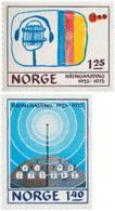 Ref. 102142 * NEW *  - NORWAY . 1975. 50th ANNIVERSARY OF THE RADIO. 50 ANIVERSARIO DE LA RADIO - Norway