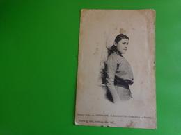 Photo  Carte Postale -coiffe Dite La Malvina-45-reffannes Et Menigoute Dans Les Deux Sevres - Photos