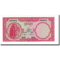 Billet, Cambodge, 5 Riels, Undated (1962-1975), KM:10c, NEUF - Cambodia