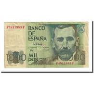 Billet, Espagne, 1000 Pesetas, 1979-10-23, KM:158, TTB - [ 4] 1975-… : Juan Carlos I