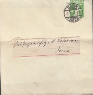 SCHWEIZ S 24, Streifband, Gestempelt: Bern 2.IV.1910 - Ganzsachen