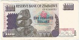 Zimbabue - Zimbabwe 100 Dollars 1995 Pick 9a Ref 1760 - Simbabwe
