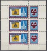UNGARN, 3122 A, Kleinbogen, Postfrisch **, Internationale Briefmarkenausstellung Interphil '76, Philadelphia, USA, - Blocks & Kleinbögen