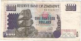 Zimbabue - Zimbabwe 100 Dollars 1995 Pick 9a Ref 1764 - Zimbabwe