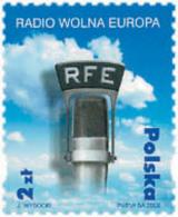 Ref. 101082 * NEW *  - POLAND . 2002. 50 ANIVERSARIO DE LA RADIO WOLNA EUROPA - 1944-.... Republic
