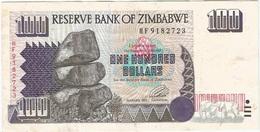 Zimbabue - Zimbabwe 100 Dollars 1995 Pick 9a Ref 1765 - Zimbabwe