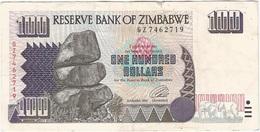 Zimbabue - Zimbabwe 100 Dollars 1995 Pick 9a Ref 1766 - Zimbabwe