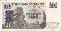 Zimbabue - Zimbabwe 100 Dollars 1995 Pick 9a Ref 1768 - Zimbabwe