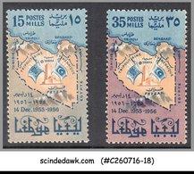 LIBYA - 1956 SCOTT#409-10 - 2V - MINT NH - Libya