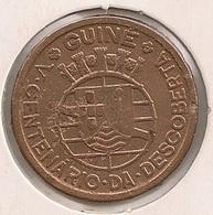 Moeda Guiné Bissau Portugal - Coin Guiné Bissau - 50 Centavos 1946 - BC - Guinea-Bissau