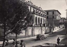 POLISTENA-REGGIO CALABRIA-EDIFICIO SCOLASTICO-CARTOLINA VERA FOTOGRAFIA-VIAGGIATA IL 24-8-1959 - Reggio Calabria