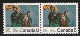 CANADA 1973 SCOTT 619** PAIR - 1952-.... Reign Of Elizabeth II