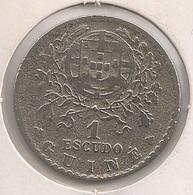 Moeda Guiné Bissau Portugal - Coin Guiné Bissau - 1 Escudo 1933 - MBC - Guinea-Bissau