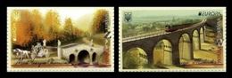 Ukraine 2018 Mih. 1689/90 Europa-Cept. Bridges MNH ** - Ukraine