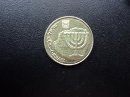 ISRAEL : 10 AGOROT  5759 (1999)   KM 158    SUP+ - Israel