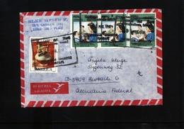 Peru Interesting Airmail  Letter - Pérou