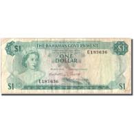 Billet, Bahamas, 1 Dollar, 1965, KM:18b, TB - Bahamas