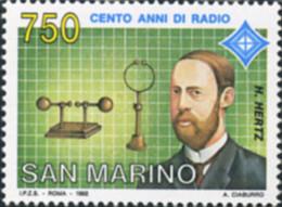 Ref. 141436 * NEW *  - SAN MARINO . 1992. 100 AÑOS DE RADIO - San Marino