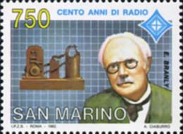 Ref. 141441 * NEW *  - SAN MARINO . 1993. 100 AÑOS DE RADIO - San Marino