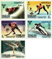 Ref. 211086 * NEW *  - SHARJAH . 1968. X OLYMPIC WINTER GAMES. GRENOBLE 1968. 10 JUEGOS OLIMPICOS  INVIERNO GRENOBLE 196 - Sharjah