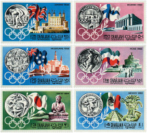 Ref. 70230 * NEW *  - SHARJAH . 1968. GAMES OF THE XIX OLYMPIAD. MEXICO 1968. 19 JUEGOS OLIMPICOS VERANO MEXICO 1968 - Sharjah