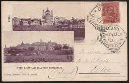 CPA Italia - Alessandria - Ovada - Paesi E Castelli Dell'Alto Monferrato - Cartolina Postale 1900 - Postcard - Alessandria