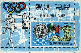 Ref. 68196 * NEW *  - SHARJAH . 1968. GAMES OF THE XIX OLYMPIAD. MEXICO 1968. 19 JUEGOS OLIMPICOS VERANO MEXICO 1968 - Sharjah