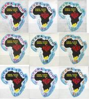 Ref. 262024 * NEW *  - SIERRA LEONE . 1968. INTERNATIONAL YEAR OF THE HUMAN RIGHTS. AÑO INTERNACIONAL DE LOS DERECHOS HU - Sierra Leone (1961-...)