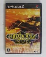 PS2 Japanese : G1 Jockey 4 2007 / SLPM-66888 - Sony PlayStation