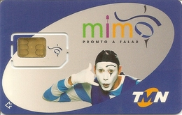 Mobil Phonecard TMN Mimo - SIM GSM - Portugal (RARE) - NOT USED - Portugal