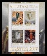 Aitutaki 2017 Mih. 974/77 (Bl.109) Easter. Classical Painting MNH ** - Aitutaki