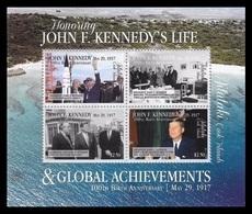 Aitutaki 2017 Mih. 978/81 (Bl.110) John Kennedi And Global Achievements. Space. Nuclear Test Ban MNH ** - Aitutaki