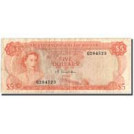 Billet, Bahamas, 5 Dollars, 1974, 1974, KM:37a, TB+ - Bahamas