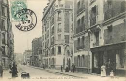 """CPA FRANCE 75015 """"Paris, Les Maisons Ouvrières De La Rue De L'Amiral Roussin"""" - Arrondissement: 15"""
