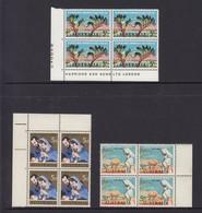 Australia 3 Pre-decimal Blocks Of 4 MUH - Sheets, Plate Blocks &  Multiples