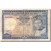 Billet, Mali, 1000 Francs, 1967, 1960-09-22, KM:9a, TB+ - Mali
