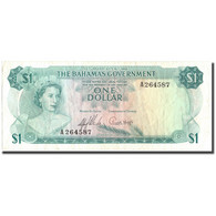 Billet, Bahamas, 1 Dollar, 1965, KM:18a, TTB - Bahamas
