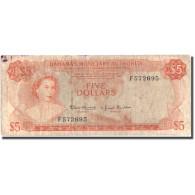 Billet, Bahamas, 5 Dollars, 1968, KM:29a, TB - Bahamas