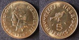 VANUATU  Nouvelles New HEBRIDES  5 Francs 1970   Port Offert - Autres – Océanie