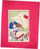 CHROMO Edition Spéciale Des PRODUITS Du LION NOIR - L'ALSACE LORRAINE - BARA** - - Trade Cards
