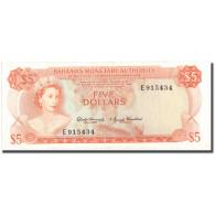 Billet, Bahamas, 5 Dollars, 1968, KM:29a, TTB+ - Bahamas