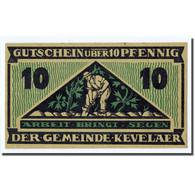 Billet, Allemagne, Kevelaer, 10 Pfennig, Triangle, 1921, 1921-06-01, SPL - Other